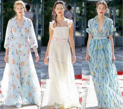 0819d25d5c1 Модные платья лето 2019-2020 года  лучшие фасоны летних платьев ...