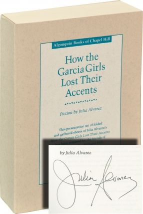 How the Garcia Girls Lost Their Accents by Julia Alvarez on