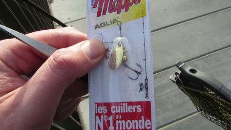 How To Add Weight To Small Spinners And Light Fishing Lures Mepps Etc Fishing Lures Light Small Light