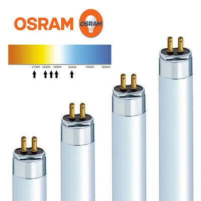 Osram T5 Fuorescent Tubes Various Lengths 14w 21w 24w 28w 35w 39w 49w 54w 80w In 2020 Fluorescent Tube Sylvania Lighting And Ceiling Fans