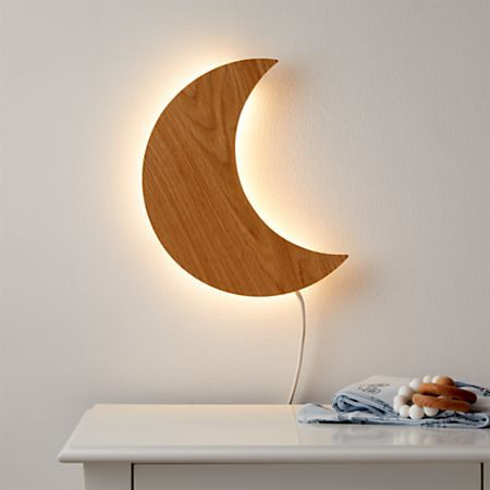 Moon Wall Light Reviews Crate And Barrel Kids Room Lighting Wall Lights Plug In Wall Lights