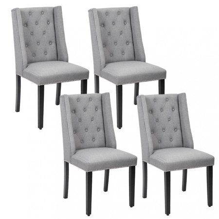 Mainstays Bucket Seat Metal Leg Dining Chair Set Of 2 Gray