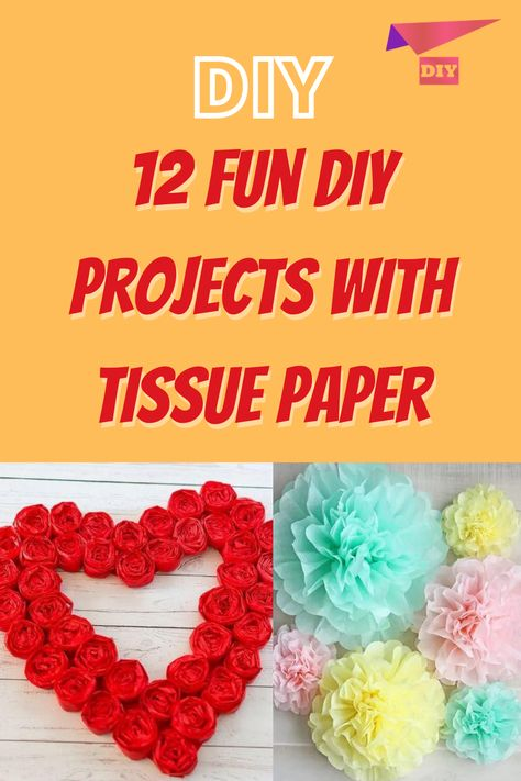 Sewing Projects For Beginners, Cool Diy Projects, Projects To Try, Diy Crafts Hacks, Diy And Crafts, Adult Crafts, Super Cute Puppies, Neon Room, Tissue Paper Crafts