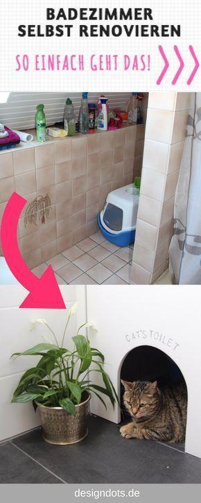 Renovate The Bathroom Yourself Before After Batting Room Rebuild Self Badezimmer Renovieren Bad Renovieren Renovieren