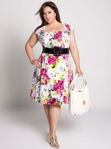Plus Size; Dress | Beautiful Big Style! | Plus size outfits, Plus ...