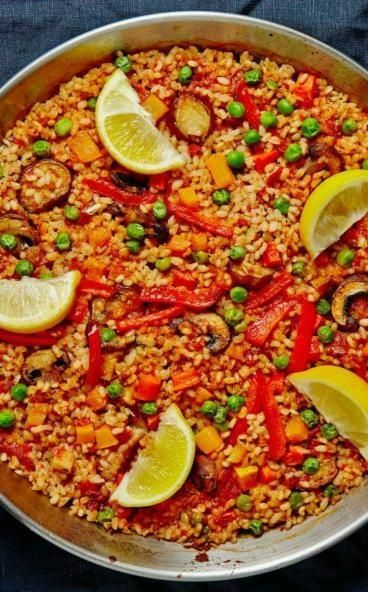 Early Autumnal Vegetable Paella