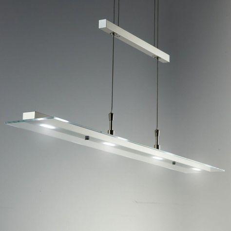 Luxus LED Design Pendel Lampen dimmbar Ess Tisch Wohn Zimmer Hänge Beleuchtung