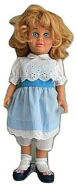 Chatty Cathy Doll 2000 Reproduction Of1960 Doll By Mattel Clear Voice W Clothes Ebay Chatty Cathy Doll Chatty Cathy Mattel