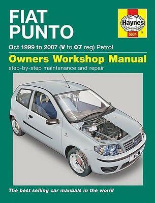 Advertisement Ebay Fiat Punto 1999 2007 Haynes Atelier Manuel 5634 Neuf Fiat Manual Car Petrol
