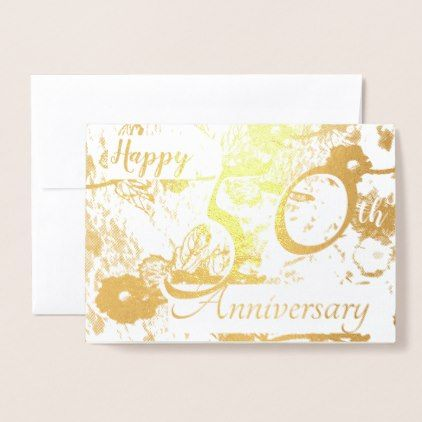 Happy 50th Golden Wedding Anniversary Blank Card 50 Golden Wedding Anniversary Wedding Anniversary Wishes 50th Wedding Anniversary Wishes