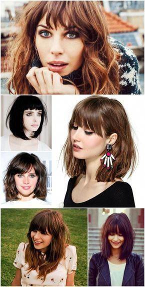 Modernizando os cabelos com corte de franjinha: #Bobwithbangs
