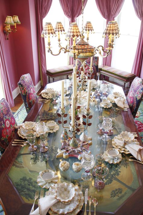 Shabby Chic ● Vintage Dining room ❤❦♪♫