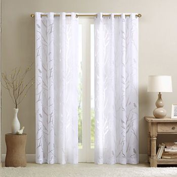 Sheer Curtains Panels Window Sheers Jcpenney Bird Curtains