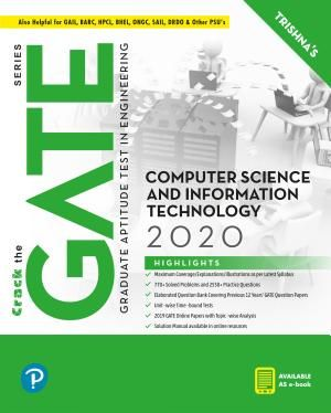 Gate Computer Science And Information Technology Gate 2020 By Pearson Pdf Download Computer Science Information Technology Pearson Education
