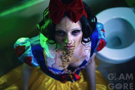 ...And Zombie Snow White - Magical Fairytale Makeup Ideas - Photos