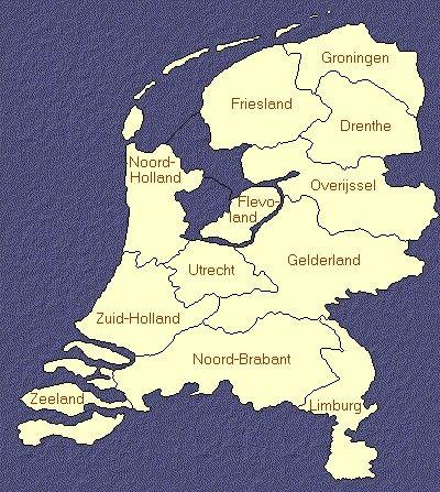 The 12 Dutch Provinces Die 12 Niederlandische Provinzen Les 12