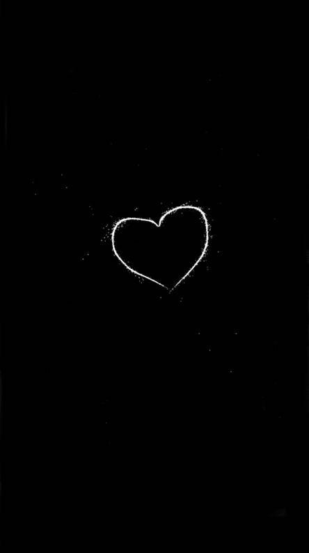 Gambar Hati Hitam Putih : gambar, hitam, putih, Gambar, Hitam, Putih
