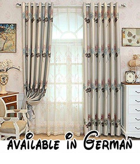 Met Love Hochpräzise Garn-gefärbt vierblättriges Kleeblatt Muster - vorhänge für schlafzimmer