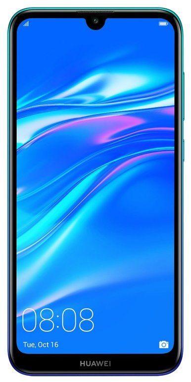 هواوي Y7 برايم 2019 بشريحتي اتصال 32 جيجا 3 جيجا رام الجيل الرابع ال تي اي ازرق Huawei Y7 Prime 2019 Dual Sim 32 Huawei Lockscreen Screenshot Comparison