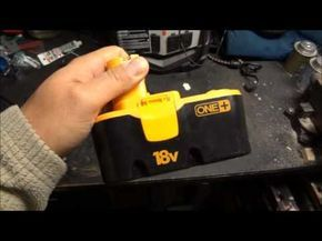 How To Bring A Dead Battery Back To Life Revive Rejuvenate Fix Rechargeable Nicd Battery Youtube Dead Battery Battery Repair Battery Hacks