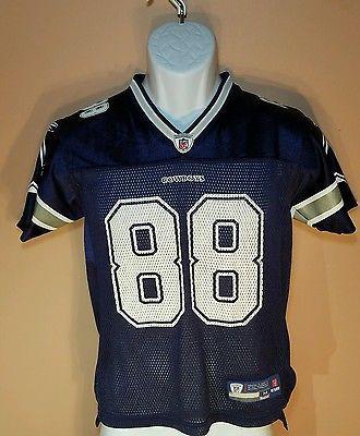 Reebok On Field Dez Bryant Blue Dallas Cowboys Youth Nfl