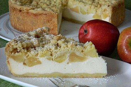Omas Quark Apfel Streusel Torte Rezept Apfel Quark Kuchen Kaffee Und Kuchen Und Apfelkuchen Mit Quark