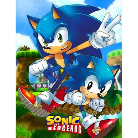 Sonic The Hedgehog Jumbo Giant Coloring Book For Toddlers Preschoolers And Kids With 49 Great Illustrations Paperback Walmart Com In 2021 Sonic The Hedgehog Sonic Classic Sonic