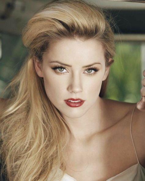 Impresionante Y Súper Hermosa Amber Heard Mujer Bonita En