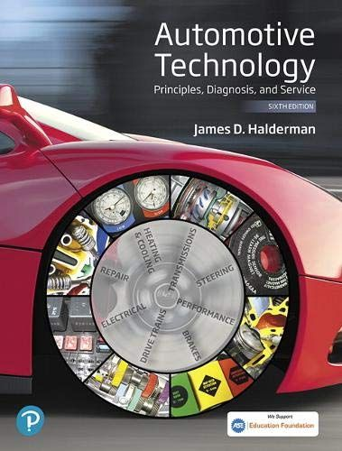 Automotive Technology 6th Edition From Amazon Technology Repair And Maintenance Heating Repair