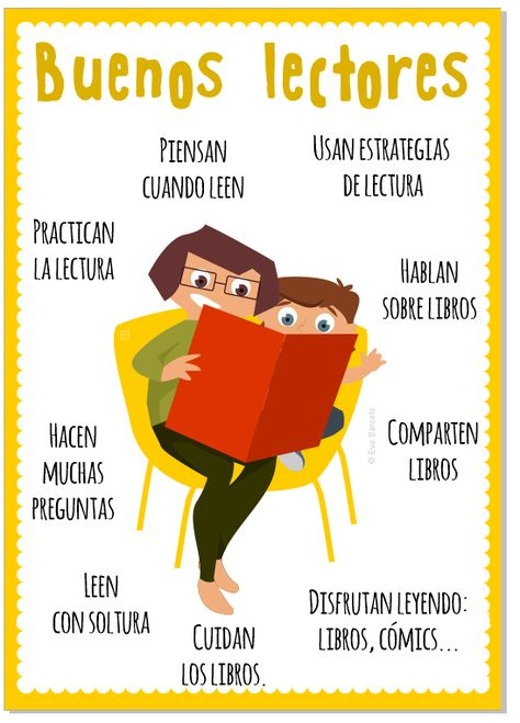 Poster Buenos Lectores