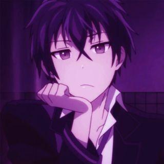 Kenma Kozume Purple Anime Purple Anime Wallpaper Haikyuu Wallpaper