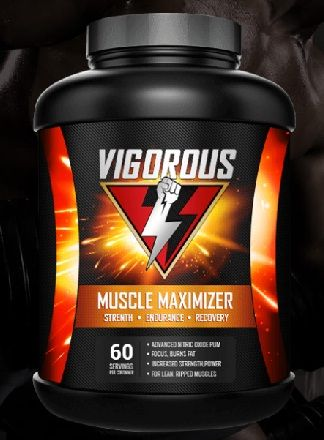 Vigorous Muscle Maximizer Reviews Best Muscle Growth Supplement