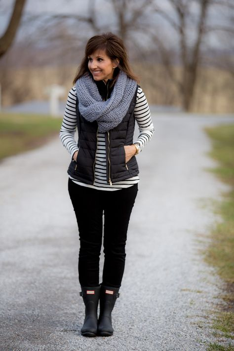 Black Quilted Vest-A Wardrobe Staple - Cyndi Spivey - Real Time - Diet, Exercise, Fitness, Finance You for Healthy articles ideas