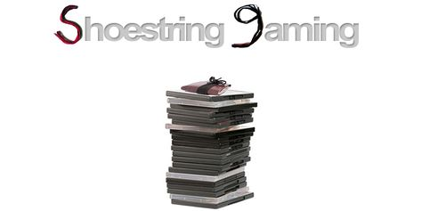 Shoestring Gaming 8/1 - Playing games and donating to charity