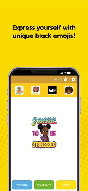 Afromoji Black Emoji Stickers On The App Store In 2020 Black Emoji Emoji Stickers Emoji
