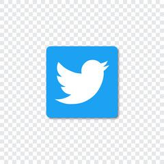Twitter Logo With Shadow On A Transparent Background Sponsored Logo Twitter Shadow Background Transparen In 2020 Twitter Logo Transparent Background Logos
