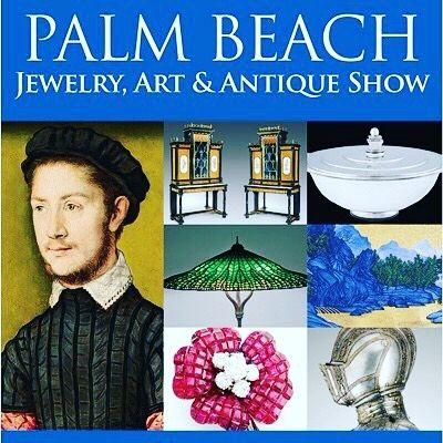 19+ Palm beach jewelry art antique show viral