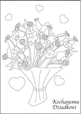 Pin By Kamila K On Babcia I Dziadek Coloring Books Craft Activities For Kids Diy And Crafts