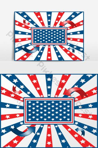 American Flag Background Stars And Stripes Pikbest Graphic Elements American Flag Background Flag Background American Flag
