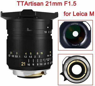 Ttartisan 21mm F1 5 Full Frame Lens For Leica M Mount Leica M M M240 M3 M6 M7 M8 In 2020 Leica M Leica Nikon Camera Body