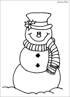Smiling Snowman Coloring Pages For Kids Free Snowman Coloring Pages Kids Christmas Coloring Pages Christmas Coloring Pages