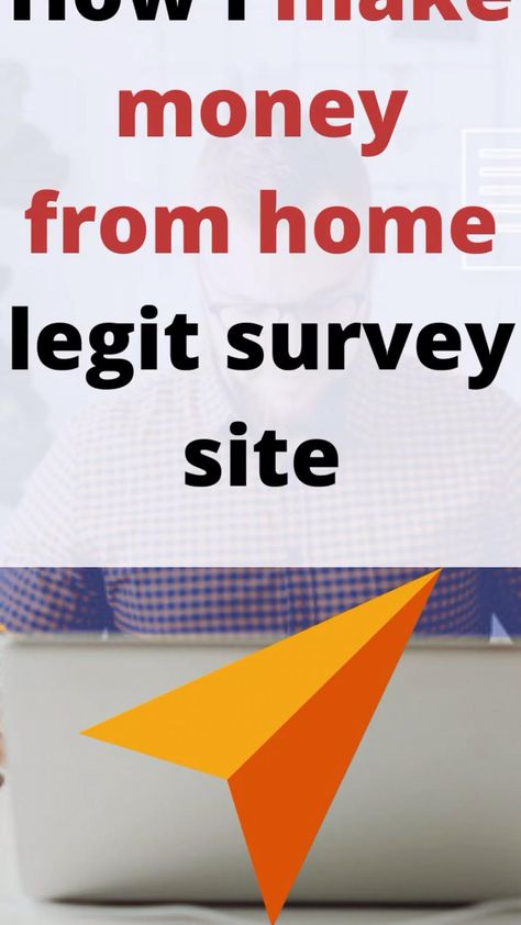 Make money from home with this survey site