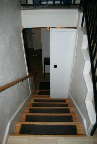 Door At Top Of Stairs Sliding Door Top Of Stairs Guest Bedroom Remodel Master Bedroom Remodel Small Bedroom Remodel