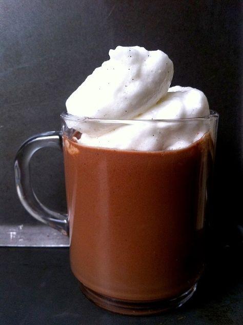 A legfinomabb forró csokoládé (tej- és cukormentesen)