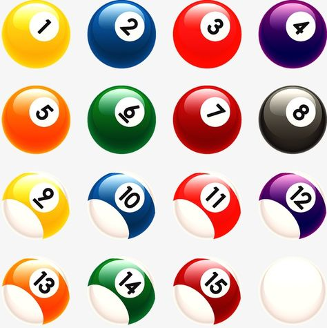 Table Tennis Billiards Ball Png Transparent Clipart Image And Psd File For Free Download Billiards Vector Modern Graphic Design