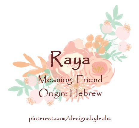 43+ Raya name meaning in quran information