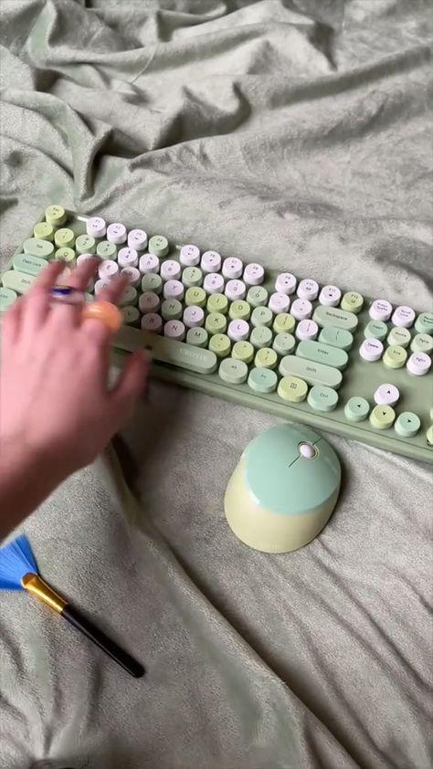 Green Keyboard ASMR