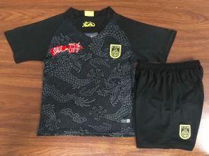 info for b8080 6ec91 2018-19 Cheap Youth Kit China Away Replica Black Kid Suit ...