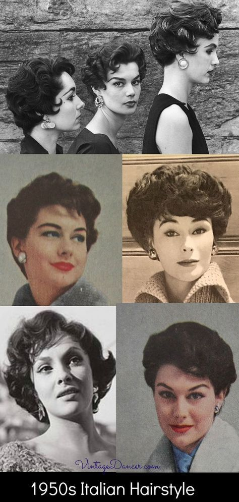1950s Italian Hairstyles Italian Hair 1950s Hairstyles 50s Hairstyles