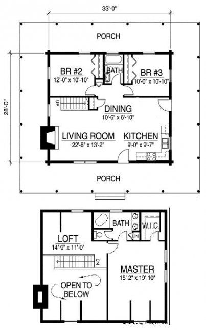60 Ideas House Plans One Story Small Loft For 2019 Small House Floor Plans Small Floor Plans Small House Plans